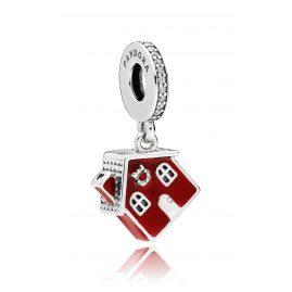 Pandora 797517EN27 Charm-Anhänger Cosy Christmas House