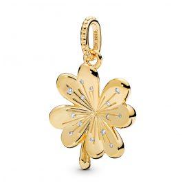 Pandora 367935CZ Shine Anhänger Lucky Four-Leaf Clover