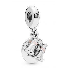 Pandora 798062CZ Charm-Anhänger Herz Fernglas