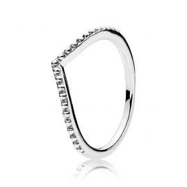 Pandora 196315 Ring für Damen Perlenförmiger Wunsch