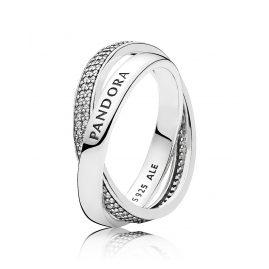 Pandora 196547CZ Ladies Ring Promise