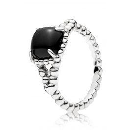 Pandora 197188NCK Ladies' Ring Black Vibrant Spirit