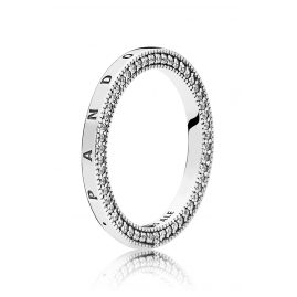 Pandora 197437CZ Ladies' Ring Hearts