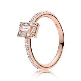 Pandora 187541CZ Rose Ladies' Ring Luminous Ice