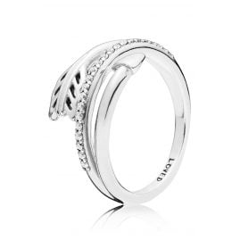 Pandora 197830CZ Silver Ladies Ring Sparkling Arrow