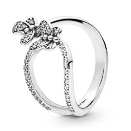 Pandora 197920CZ Ladies´ Ring Bedazzling Butterflies