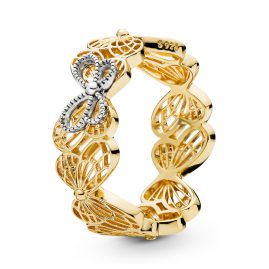 Pandora 167947 Shine Ladies´ Ring Openwork Butterflies
