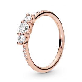 Pandora 186242CZ Rose Damenring Sparkling Elegance