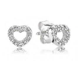 Pandora 290528CZ Damen Ohrringe Herz