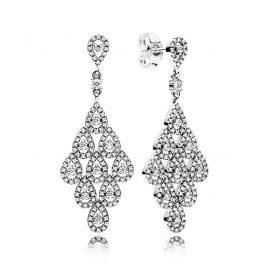 Pandora 296201CZ Ladies Earrings Flowing Brilliance