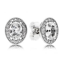Pandora 296247CZ Ladies Earrings Vintage Elegance
