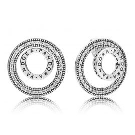 Pandora 297446CZ Damen-Ohrringe Für Immer
