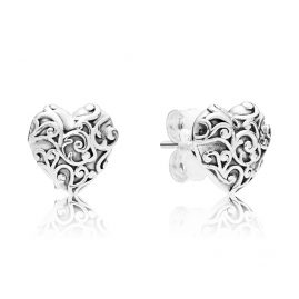 Pandora 297693 Damenohrstecker Regal Hearts