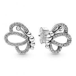 Pandora 297912CZ Damen-Ohrringe Butterfly Outlines