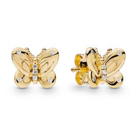 Pandora 267921CZ Shine Damen-Ohrringe Decorative Butterflies