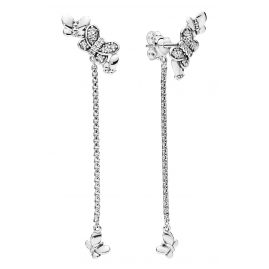 Pandora 297964CZ Ladies' Earrings Bedazzling Butterflies