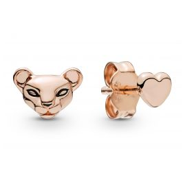Pandora 288022EN16 Rose Ladies´ Earstuds Lion Princess & Heart