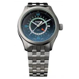 traser H3 107036 Mens Watch P59 Aurora GMT Blue Steel