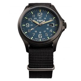 traser H3 108632 Men´s Wristwatch P67 Officer Pro Gunmetal/Blue