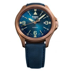traser H3 108074 Men´s Automatic Watch P67 Officer Pro Blue