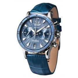 Vostok Europe VK64-515A526 Damen-Armbanduhr mit 3 Armbändern Blau