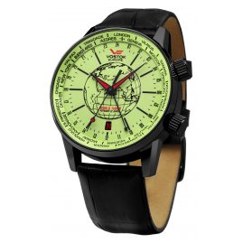 Vostok Europe 5604240 World Timer Automatikuhr