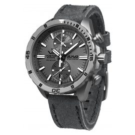 Vostok Europe 6S11-320H264 Almaz Titanium Chronograph Mens Watch