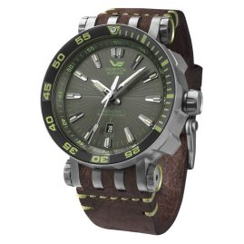 Vostok Europe NH35A-575H284 Mens Automatic Watch Energia Rocket Titanium