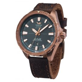 Vostok Europe NH35A-320O507 Automatic Mens Watch Almaz Bronze