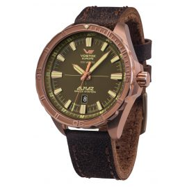 Vostok Europe NH35A-320O516 Mens Automatic Watch Almaz Bronze