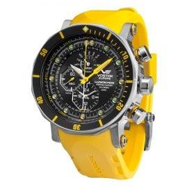Vostok Europe YM86-620A505 Herren-Alarm-Chronograph Lunokhod 2