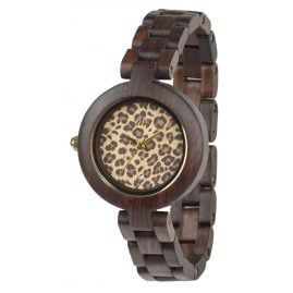 WeWood WW22002 Pardus Chocolate Damenuhr