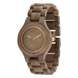 WeWood WW24009 Damen-Armbanduhr Antea Chrystal Nut Rough