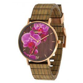 WeWood WW48001 Ladies' Watch Aurora Flower Nut