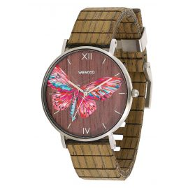 WeWood WW48002 Damen-Uhr Aurora Tropical Nut
