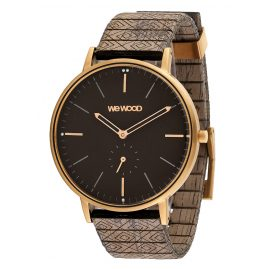 WeWood WW63004 Holz-Armbanduhr Albacore Rose Gold Black Choco