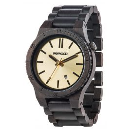WeWood WW31003 Arrow Black Gold Herren-Holzuhr