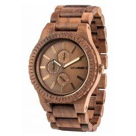 WeWood WW30004 Multifunction Wooden Watch Kos Nut Bronze