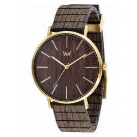 WeWood WW61002 Holz-Armbanduhr Horizon Gold Ebony