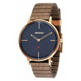 WeWood WW63003 Holzuhr Albacore Rose Gold Blue Apricot