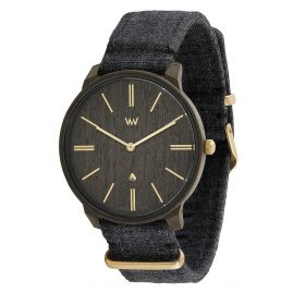 WeWood WW64001 Herrenuhr Ross Black Gold