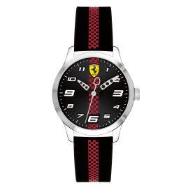 Scuderia Ferrari 0860002 Kinderuhr Pitlane Schwarz