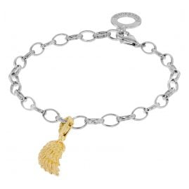 Engelsrufer 51962 Gift Set Bracelet with Wing gold