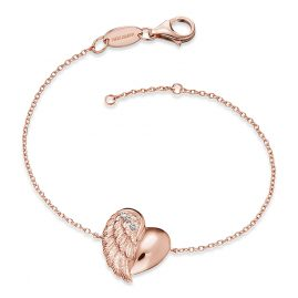 Engelsrufer ERB-LILHEARTWING-R Ladies Bracelet Heartwing Rose