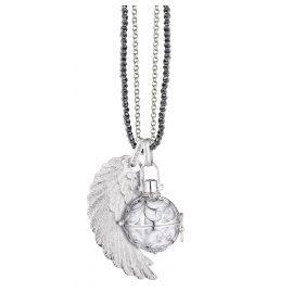 Engelsrufer 79695 Silber-Collier mit Klangkugel und Flügel
