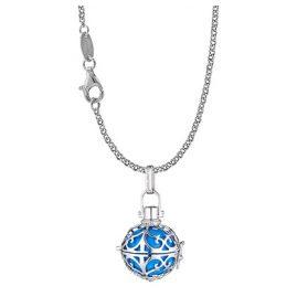 Engelsrufer 35951 Halskette mit Engelsrufer Silber/Türkis