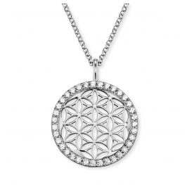 Engelsrufer ERN-LILLIFL-ZI Ladies´ Necklace Flower of Life with Cubic Zirconias