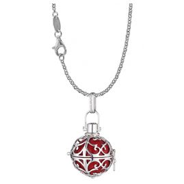 Engelsrufer 78131 Collier with Red Sound-Ball