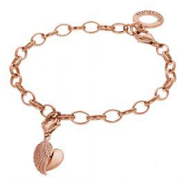 Engelsrufer 78148 Rosé Armband mit Flügelherz