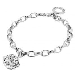 Engelsrufer 78162 Silber-Armband mit weißer Klangkugel